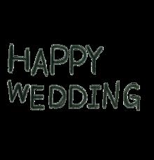 happy weddingの画像(プリ画像)