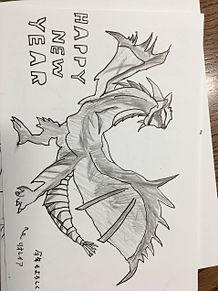 年賀状2019手書きイラストの画像(年賀状 手書きに関連した画像)