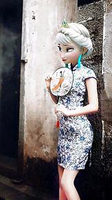 エルサ チャイナ風の画像(プリ画像)