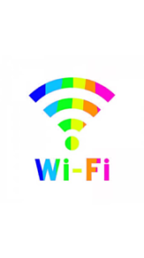 Wi-Fi❤💛💚💙💜の画像(Wi-Fiに関連した画像)
