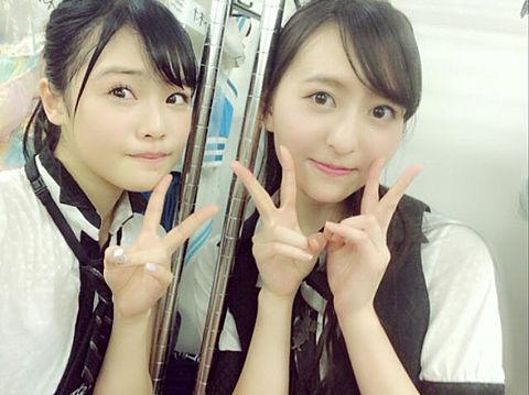 本村碧唯 森保まどか   HKT48の画像(プリ画像)