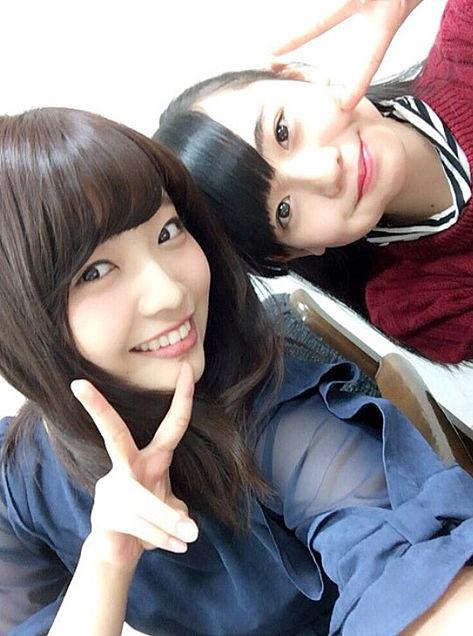 二村春香  上村亜柚香    HKT48の画像(プリ画像)