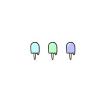 アイスの画像(イラスト ゆるいに関連した画像)