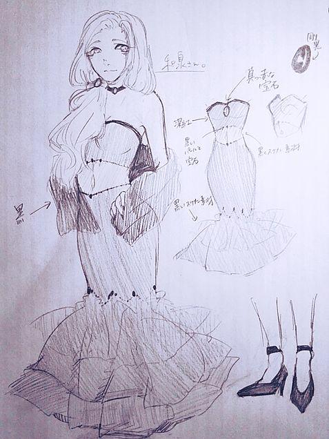 創作ドレスの画像(プリ画像)