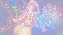 紫吹蘭 正座ドレス