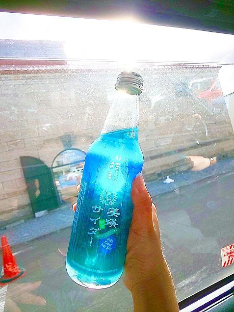 青い池の画像(プリ画像)