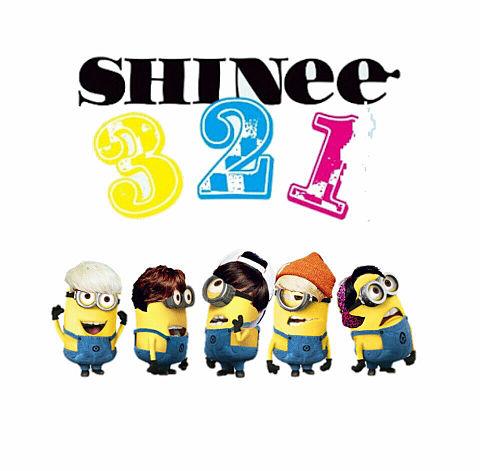 SHINee ミニオンの画像(プリ画像)