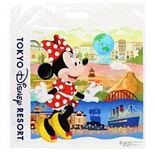 かわいいディズニー  ビニール袋  写真右下のハートを押してねの画像(袋に関連した画像)