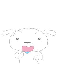 クレヨンしんちゃんシロ  保存はいいね♡の画像(クレヨンしんちゃん可愛いに関連した画像)