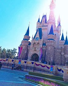 シンデレラ城の画像(東京ディズニーリゾートに関連した画像)
