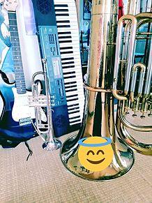 今家にある楽器達の画像(吹奏楽に関連した画像)