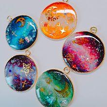 UVレジン 宇宙塗りの画像(ラフに関連した画像)