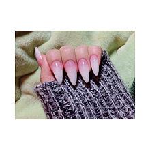 nail ❥❥の画像(ラメグラデに関連した画像)