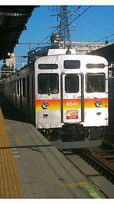 東急8500大井町線の画像(大井に関連した画像)