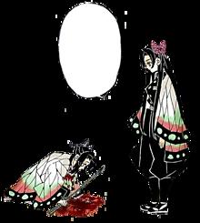 きめつのやいば胡蝶かなえイラスト