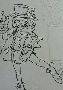 ミヌキの色塗り前の画像(プリ画像)
