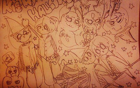 Kis-My-Halloween!!!!!!!!!!の画像(プリ画像)