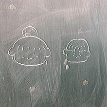 黒板/学校/イラスト/オシャレ/青春の画像(学校 女の子 イラストに関連した画像)
