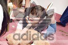 TWICE サナ adidasロゴ入れの画像(ロゴ入れに関連した画像)