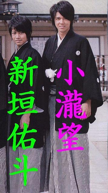 7WEST 新垣佑斗 小瀧望の画像(プリ画像)