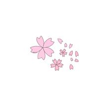 桜🌸(保存はポチッ)の画像(パステルカラフルピンクに関連した画像)