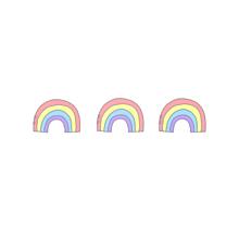 🌈虹🌈  (保存はポチッ)詳細へ⏩の画像(パステルカラフルピンクに関連した画像)