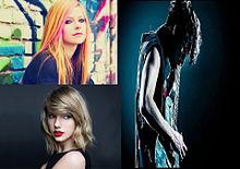 ワンオク×Taylor Swift×Avril Lavigneの画像(Lavigneに関連した画像)