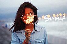 Summer is coming soon プリ画像