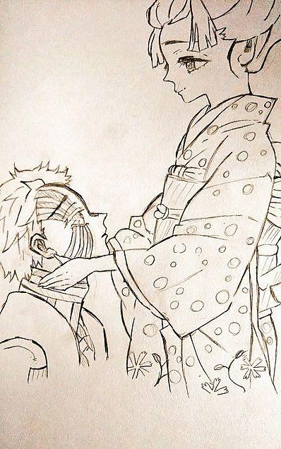 鬼滅の刃 狛治、恋雪の画像(プリ画像)