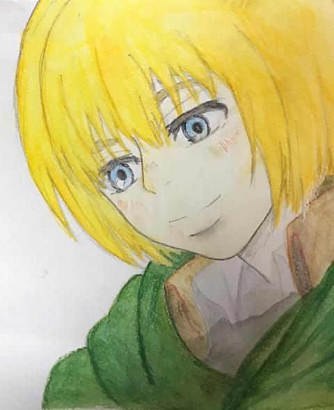 ・アルミン チャレンジ!!の画像(プリ画像)