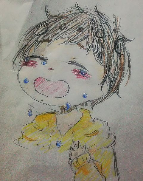 大泣き。の画像(プリ画像)