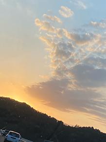 夕焼けの画像(夕日 空に関連した画像)