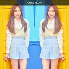 CHAEYEON  COLOR*IZ  PHOTO 1 プリ画像