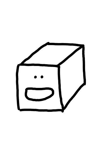 キューブのキュー之助の画像 プリ画像