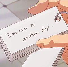 tomorrow is another day.の画像(Anotherに関連した画像)