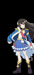 少女歌劇レビュースターライト 神楽ひかり 背景透過の画像(神楽ひかりに関連した画像)