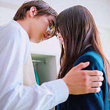 キスする寸前の画像(胸きゅんに関連した画像)