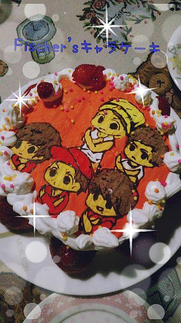 Fischer'sキャラクターケーキの画像(プリ画像)