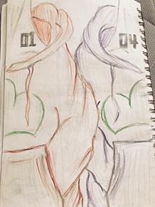小さい紙に収まるように描いたらこんなんになっちゃった。。の画像(小さいに関連した画像)
