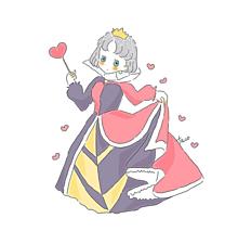 ハートの女王❤️の画像(イラスト ゆるいに関連した画像)