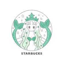 スタバ姫☕️の画像(リトルマーメイドに関連した画像)