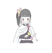 栗花落カナヲの画像(きめつに関連した画像)