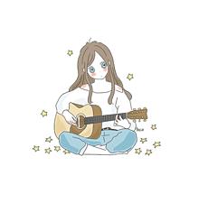 ギター女子🎸の画像(ギタ女に関連した画像)