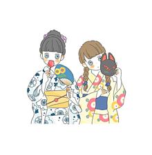 夏の女の子🌻🍉の画像(日本の夏に関連した画像)
