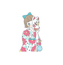 浴衣〜🍉🌻の画像(日本の夏に関連した画像)