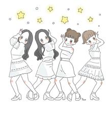 Dance the night away💫の画像(nightに関連した画像)