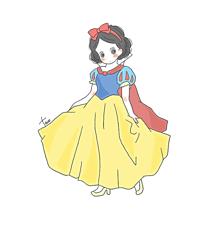 白雪姫の画像(イラスト ゆるいに関連した画像)