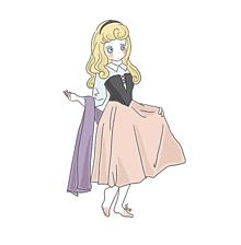 オーロラ姫👑の画像(イラスト ゆるいに関連した画像)