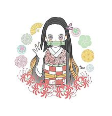禰豆子ちゃん🎍 プリ画像