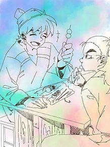 尊奈門と土井先生の画像(土井半助に関連した画像)